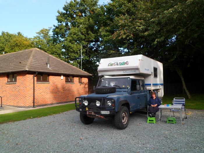 York Beechwood Grange Caravan Club Site